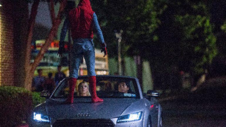 Bu Audi'yi ilk sinemada göreceksiniz