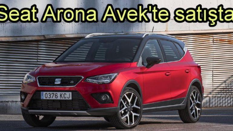 Seat'ın yeni SUV'si Arona, Avek showroomlarında