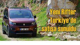 SUV görünümlü Yeni Rifter Türkiye'de!