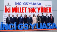 İnci GS Yuasa'dan Manisa'ya 120 milyon TL'lik fabrika yatırımı