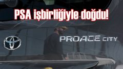 Toyota'dan yeni hafif ticari model: Proace City