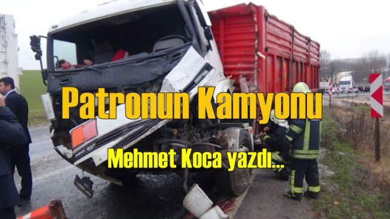 Patronun kamyonu