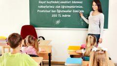 Öğretmen, bu kampanyayla dünyayı gezecek