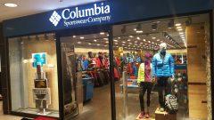 Columbia Espark'ta açıldı