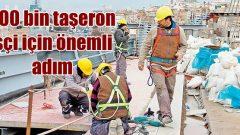 Kamuda çalışan 200 bin taşeron işçiye kadro müjdesi