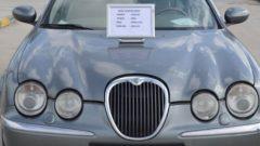 Jet sosyetenin Jaguarı TASİŞ'e düştü; 56 bin liraya Jaguar