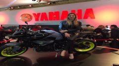 Yamaha, fuarda yeni modelleriyle göz doldurdu!