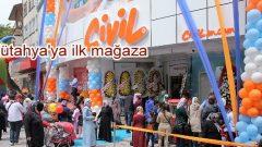 Civil, Kütahya'daki ilk mağazasını açtı!