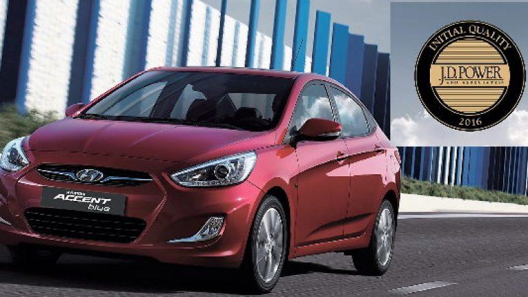 Hyundai Accent 'En az sorun çıkaran marka' seçildi!
