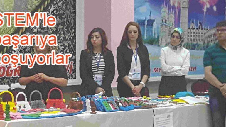 Kayseri'de çocuklar bilim için yarıştı!