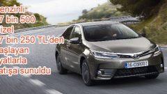 Yeni Corolla 57 bin 500 TL'den satışa sunulacak