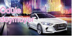 Hyundai, Elantra'yla ödülleri topluyor