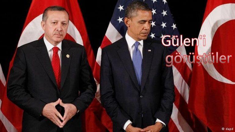 Obama ve Erdoğan'dan 'Gülen' görüşmesi