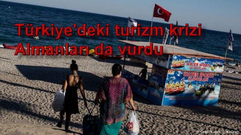 Türkiye'deki turizm krizi Almanları da vurdu
