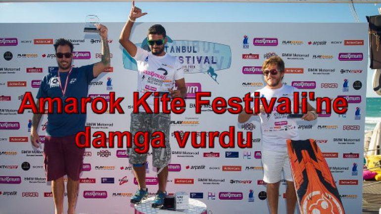 Amarok Kite Festivali'ne damga vurdu