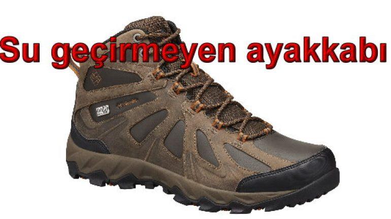 Su geçirmeyen ayakkabı