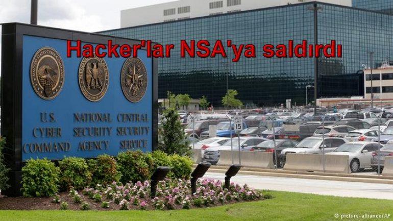 Hacker'lar NSA'ya saldırdı