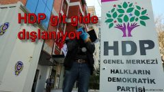 HDP git gide dışlanıyor