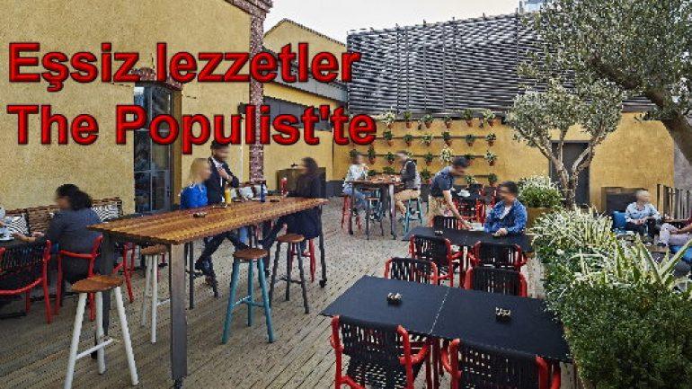 Eşsiz lezzetler The Populist'te