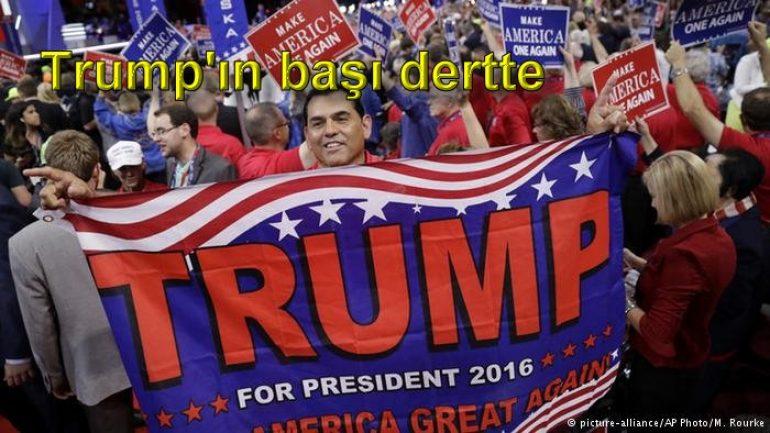 Trump'ın başı dertte