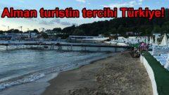 Alman turistin tercihi Türkiye!