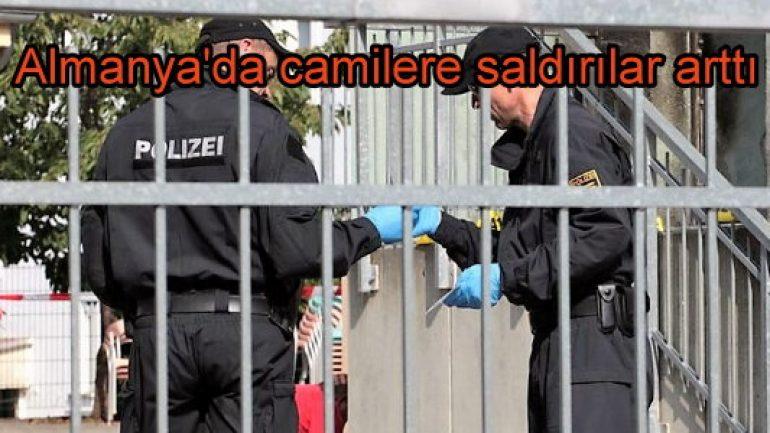 Almanya'da camilere saldırılar arttı