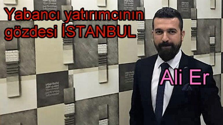 Yabancı yatırımcının gözdesi İstanbul