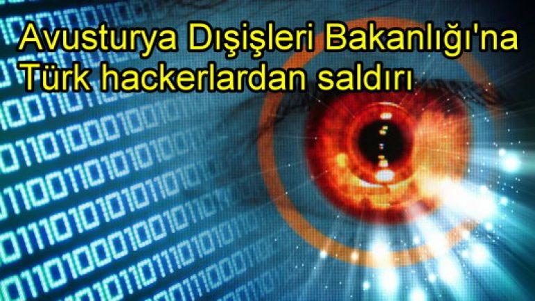 Türk hackerlar Avusturya Dışişleri'ne saldırdı