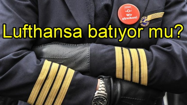Lufthansa batıyor mu?..
