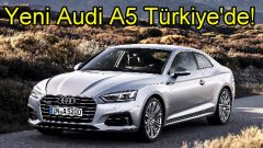 Yeni A5 Coupe Türkiye'de!
