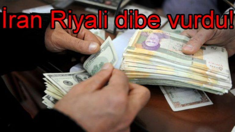 İran Riyali dibe vurdu!