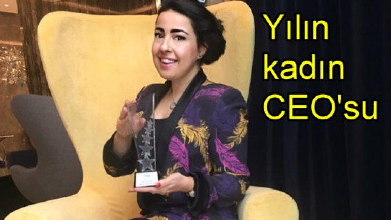 'Yılın Kadın CEO'su' oldu!
