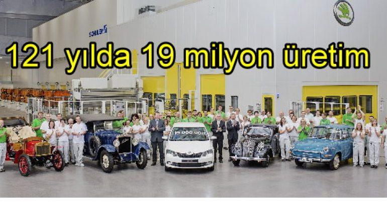 121 yılda 19 milyon üretim yaptı