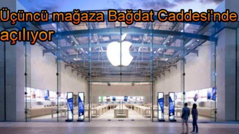 Apple üçüncü mağazasını nerede açıyor?
