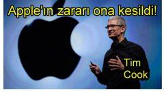 Apple'ın zararı CEO'ya kesildi!