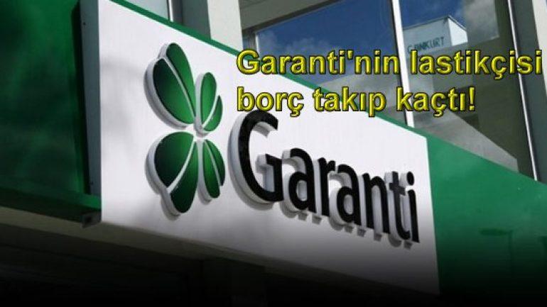 Garanti'nin lastikçisi borç takıp kaçtı!