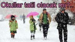 İstanbul'da kar tatili uzayacak mı?..