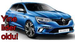 Renault yine lider!