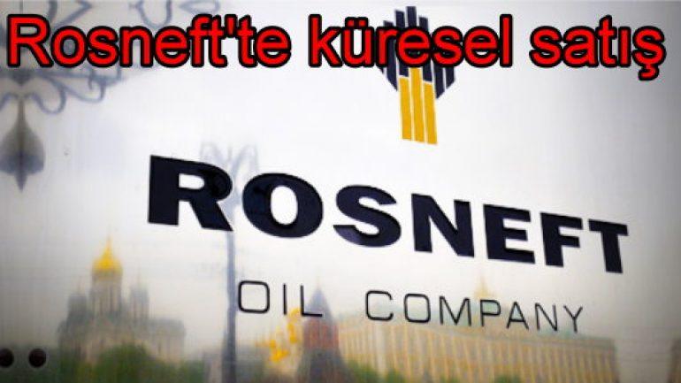 Rosneft'in yüzde 19.5'i satıldı!