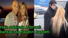 Reina'daki saldırıda Lübnanlı bankacı da hayatını kaybetti