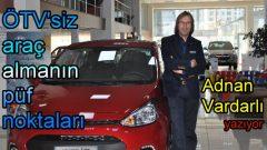 Engelliler için ÖTV'siz araç almanın şartları!