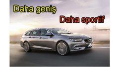 Geniş ve Sportif: Opel Yeni Insignia Sports Tourer
