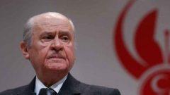 Devlet Bahçeli'den Barzani açıklaması
