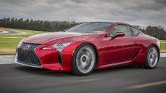 Lexus LC 500 coupe'ye tasarım ödülü