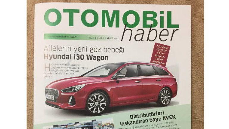 Otomobil Haber ilk sayısı ile yayın hayatında
