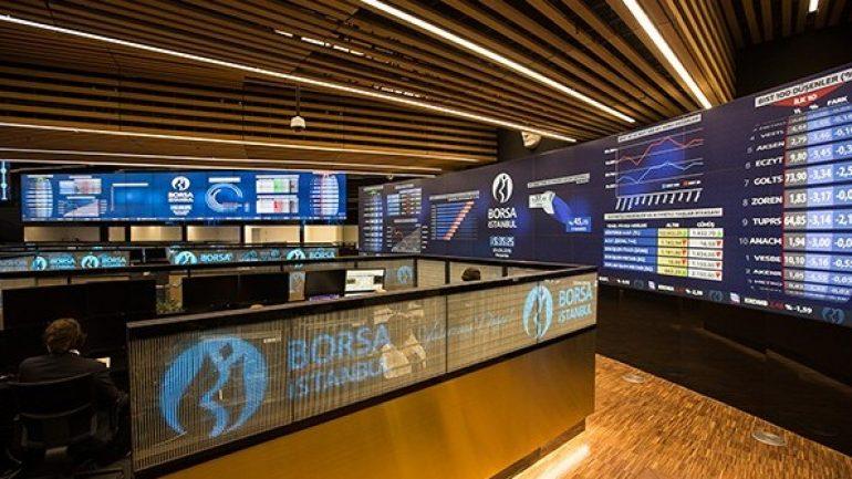 Borsa İstanbul rekor seviyeden düşüşle kapattı