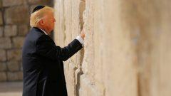 Trump, Ağlama Duvarı'nda