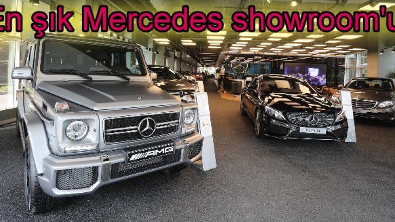 Koluman'dan 6 milyon TL'lik Mercedes showroom'u!