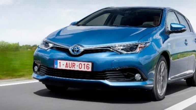 Toyota Auris'in Hybrid modeli yola çıkıyor