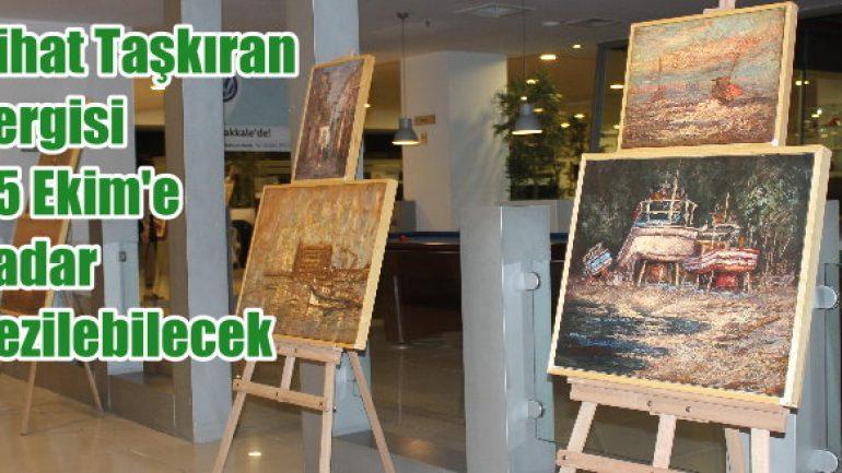 Avek'te Nihat Taşkıran sergisi açıldı